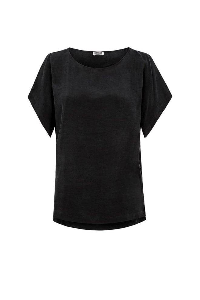 Drykorn somia t-shirt zwart - Drykorn
