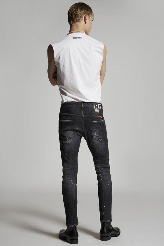 Dsquared icon skater jeans black - Dsquared