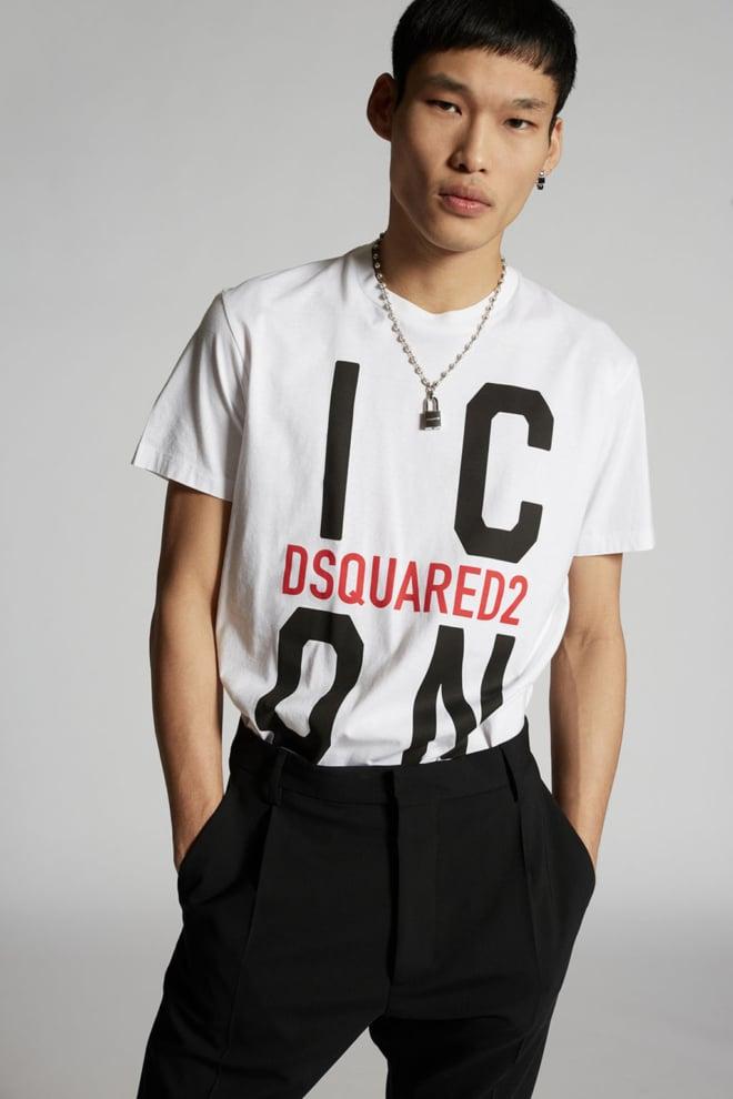 Dsquared t-shirt wit - Dsquared