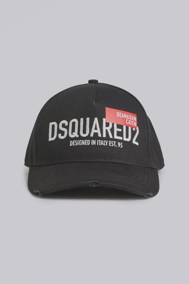 Dsquared2 cargo baseball cap black - Dsquared