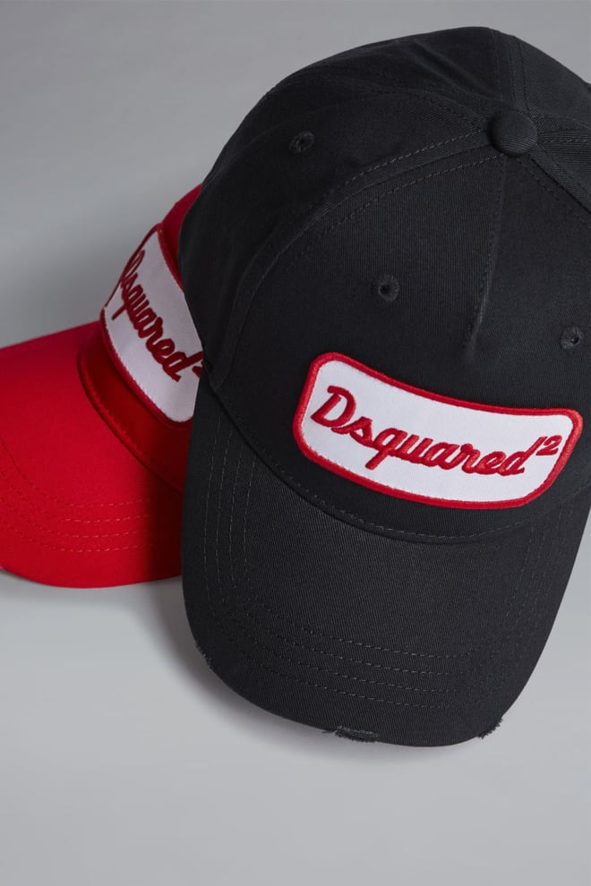 Dsquared baseball cap zwart - Dsquared