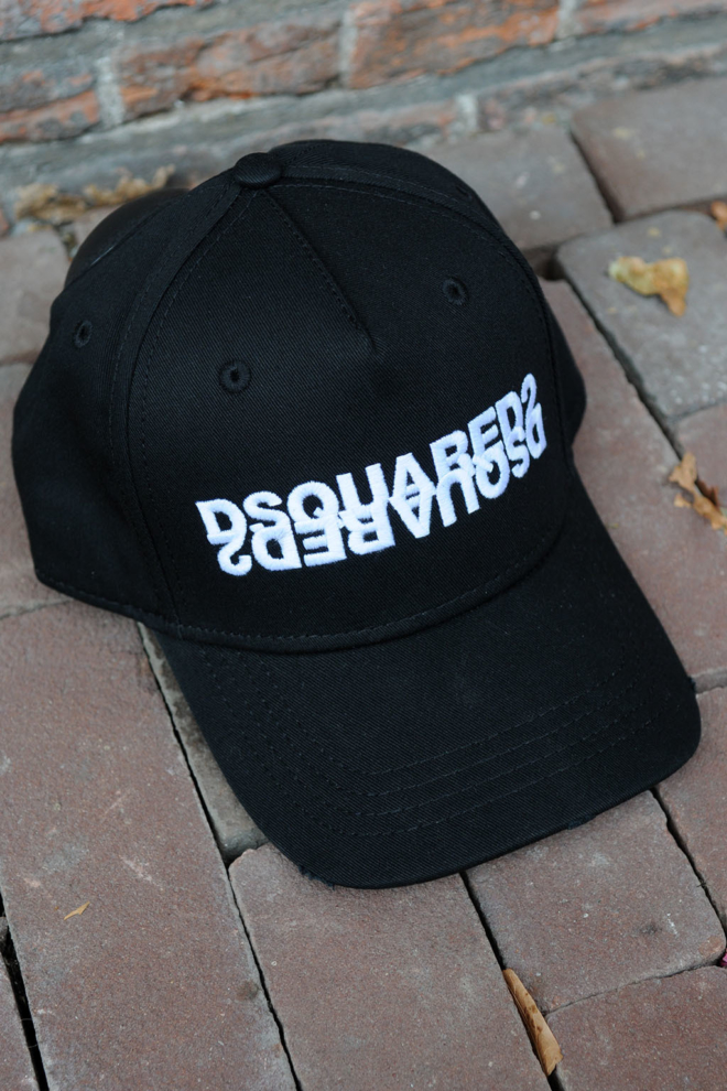 Dsquared2 other cargo baseball nero cap - Dsquared