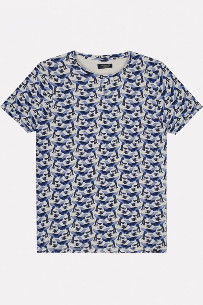 Dstrezzed birds t-shirt wit - Dstrezzed