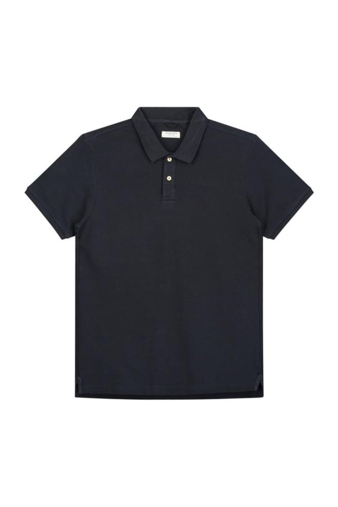 Dstrezzed bowie basic polo blauw - Dstrezzed