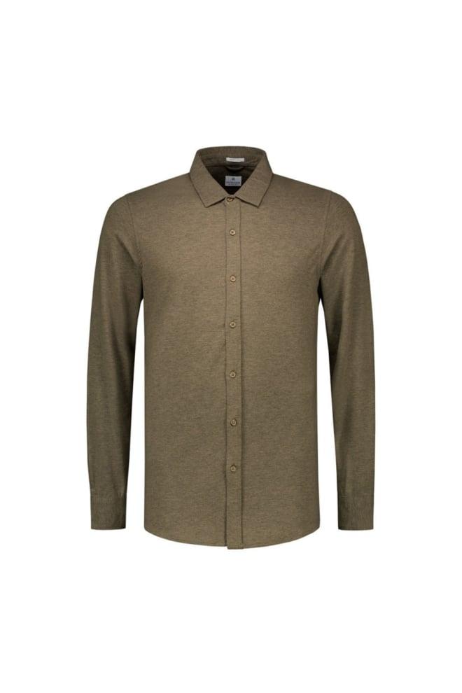 Dstrezzed stretch jersey overhemd groen - Dstrezzed