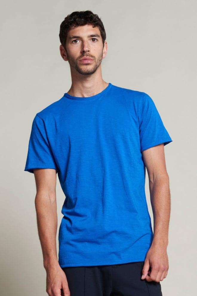Dstrezzed mc queen basic t-shirt blauw - Dstrezzed