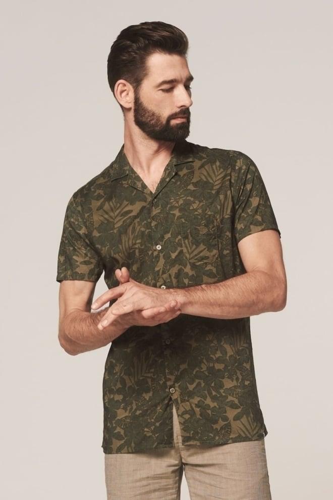 Dstrezzed resort overhemd groen - Dstrezzed