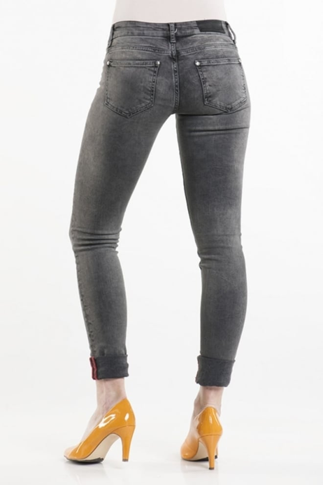 Eden schwartz livana 820 jeans grijs - Eden Schwartz