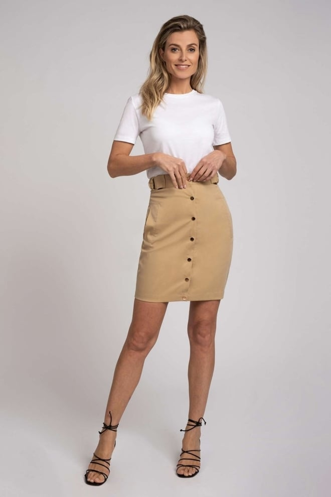 Fifth house luk skirt beige - Fifth House