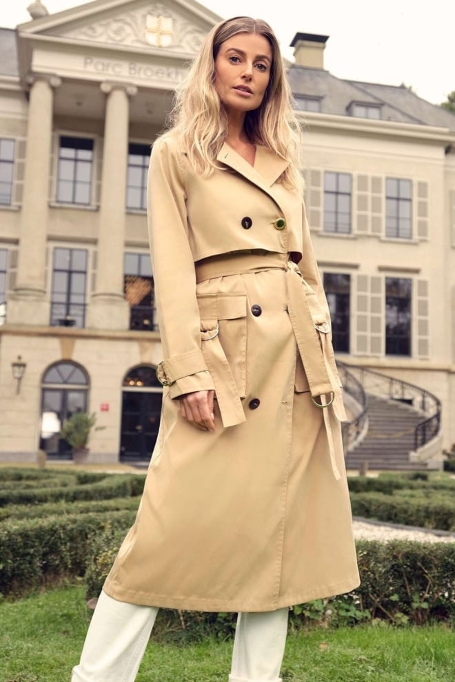 Fifth house luk trench coat beige - Fifth House