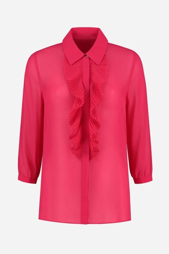 Fifth house rainy ruffle blouse roze - Fifth House