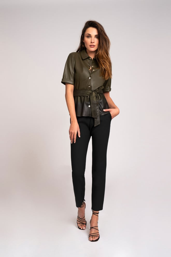 Fifth house momo belted blouse camo dipdye - Fifth House