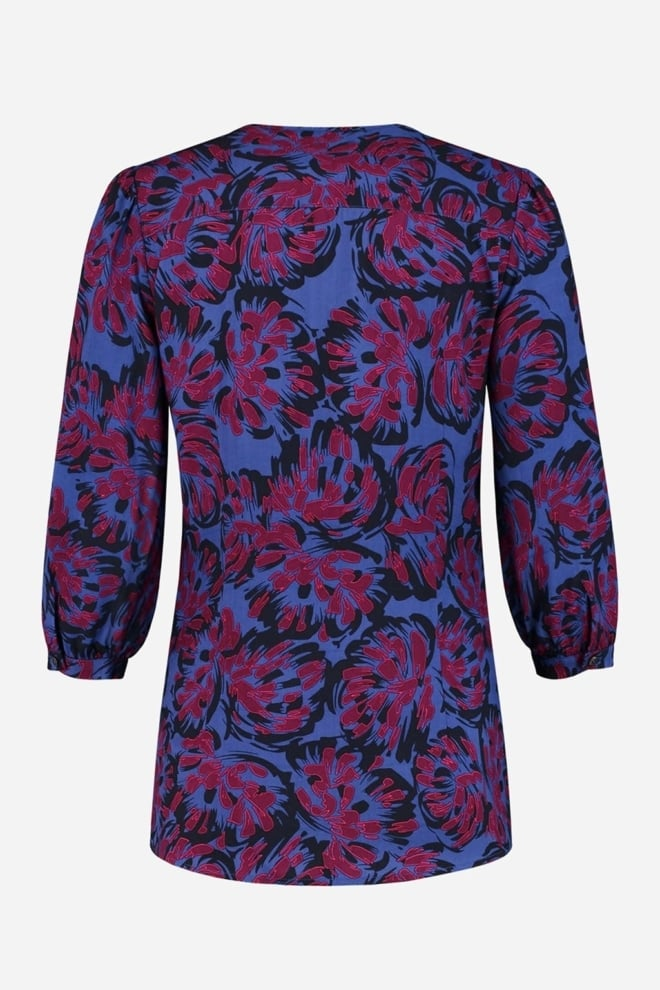 Fifth house salem short sleeve blouse blauw - Fifth House