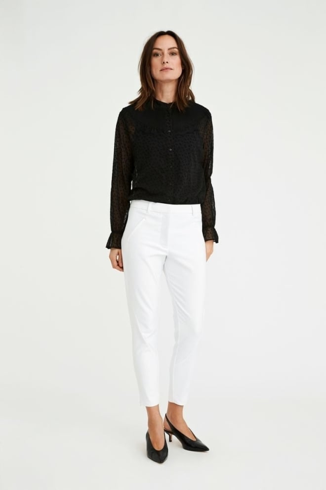Five units angelie 238 zip chino wit - Five Units