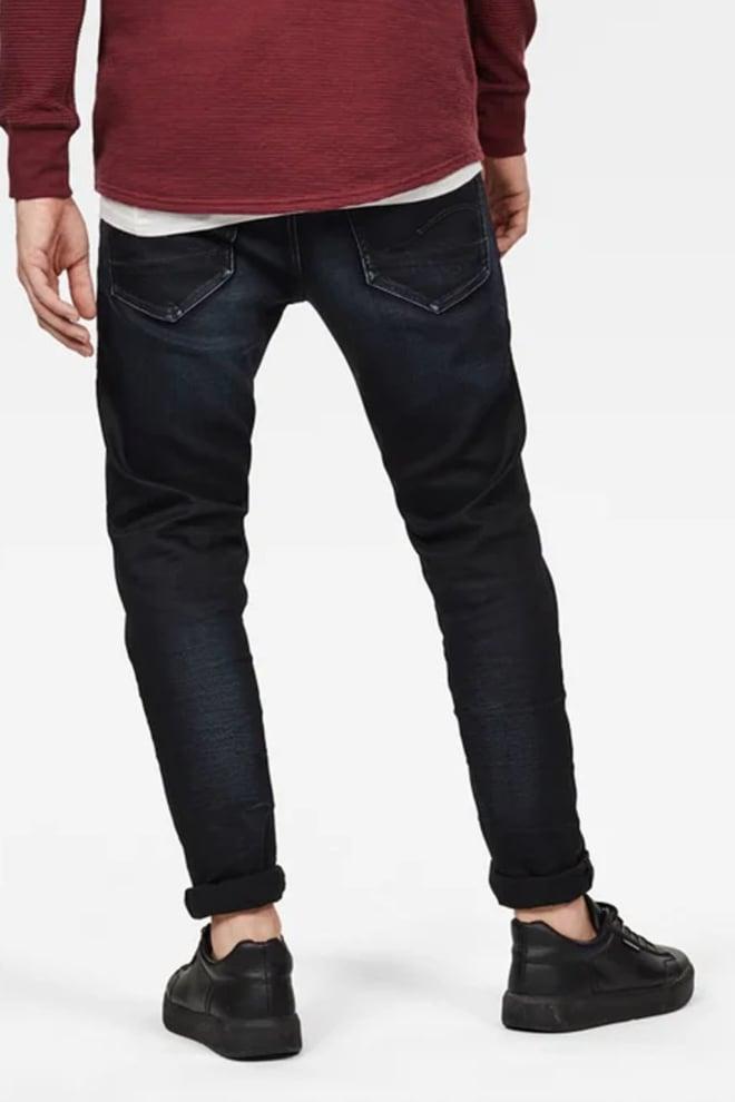 G-star raw 3301 slim jeans donkerblauw - G-star Raw