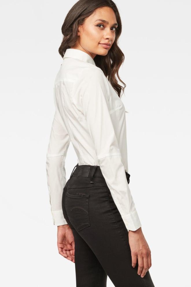 G-star raw core 3d slim shirt white - G-star Raw