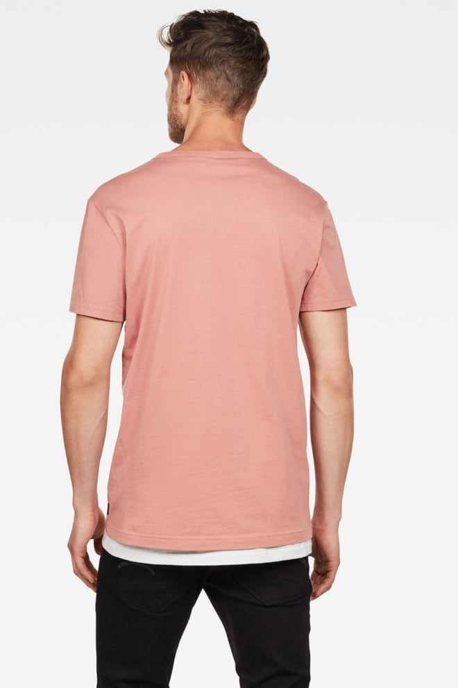 G-star raw graphic 6 t-shirt roze - G-star Raw