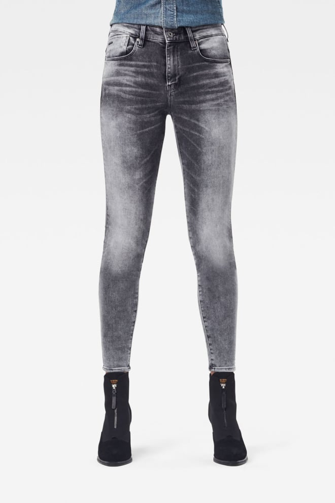 G-star raw lhana skinny jeans grijs - G-star Raw