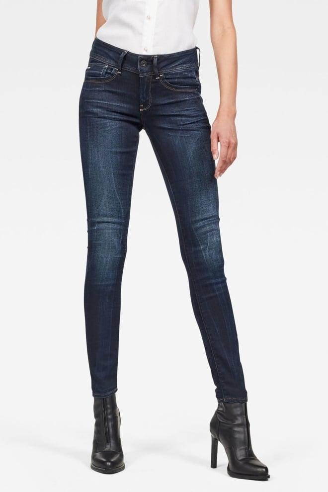 G-star raw lynn mid waist skinny jeans - G-star Raw