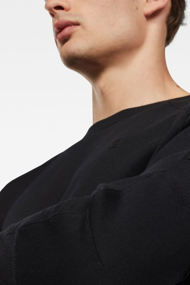 G-star raw motac sweater zwart - G-star Raw