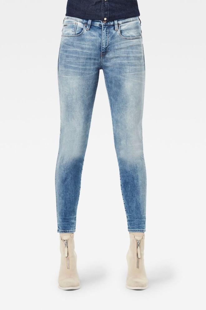 G-star raw lhana skinny jeans blauw - G-star Raw