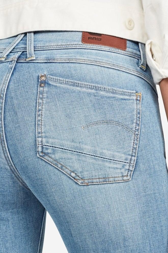 G-star lynn super skinny jeans lichtblauw - G-star Raw
