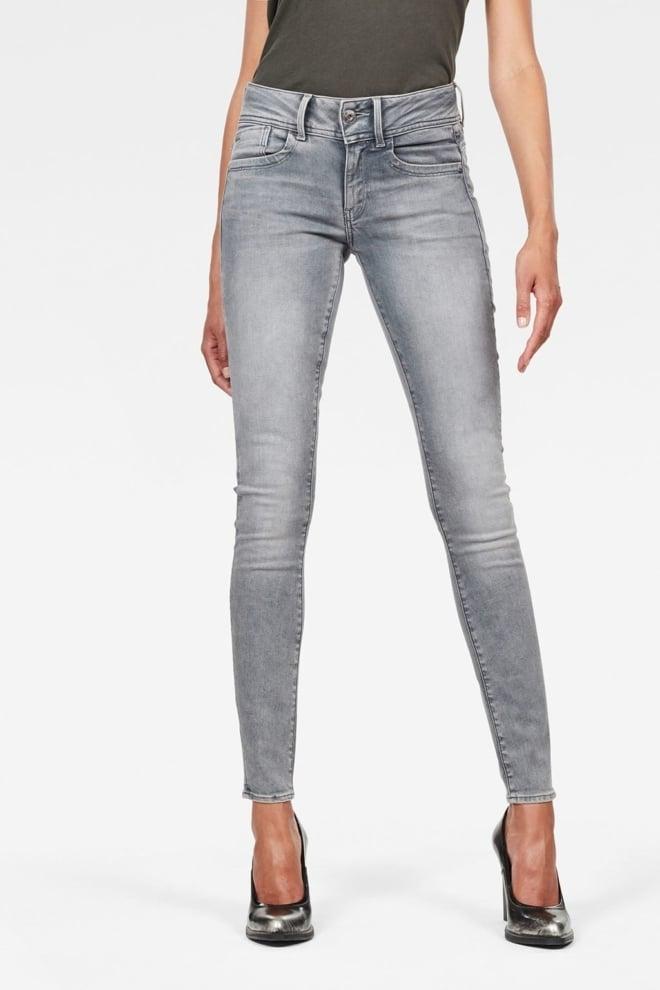 G-star raw lynn skinny dames jeans faded grey - G-star Raw