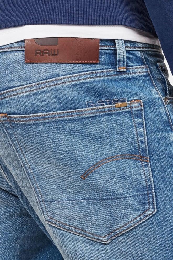 G-star straight tapered heren jeans blauw - G-star Raw