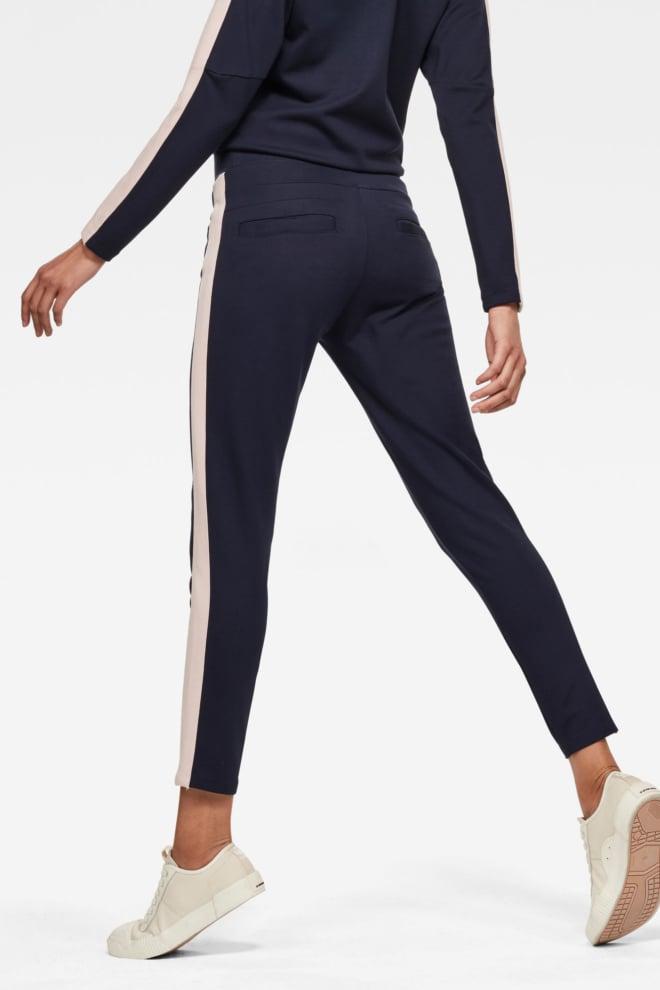 G-star d-staq stripe sweatpants blauw - G-star Raw
