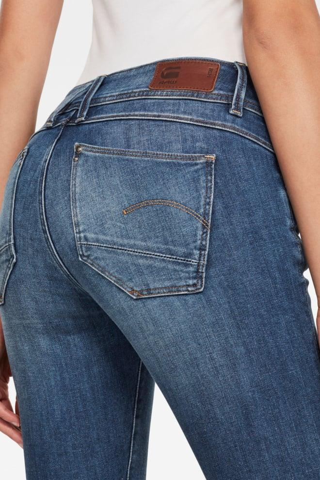 G-star lynn skinny jeans blauw - G-star Raw
