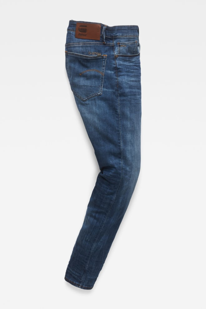G-star straight tapared medium jeans blauw - G-star Raw