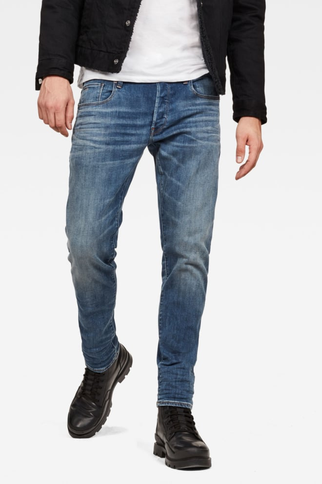 G-star raw aged jeans blauw - G-star Raw