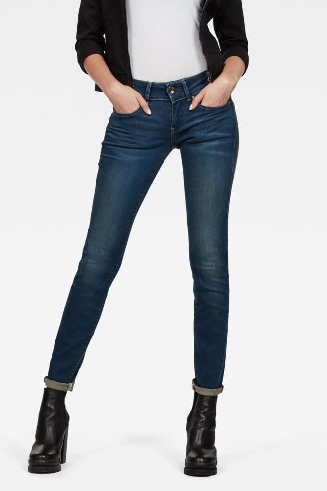G-star raw midge cody skinny jeans blauw - G-star Raw