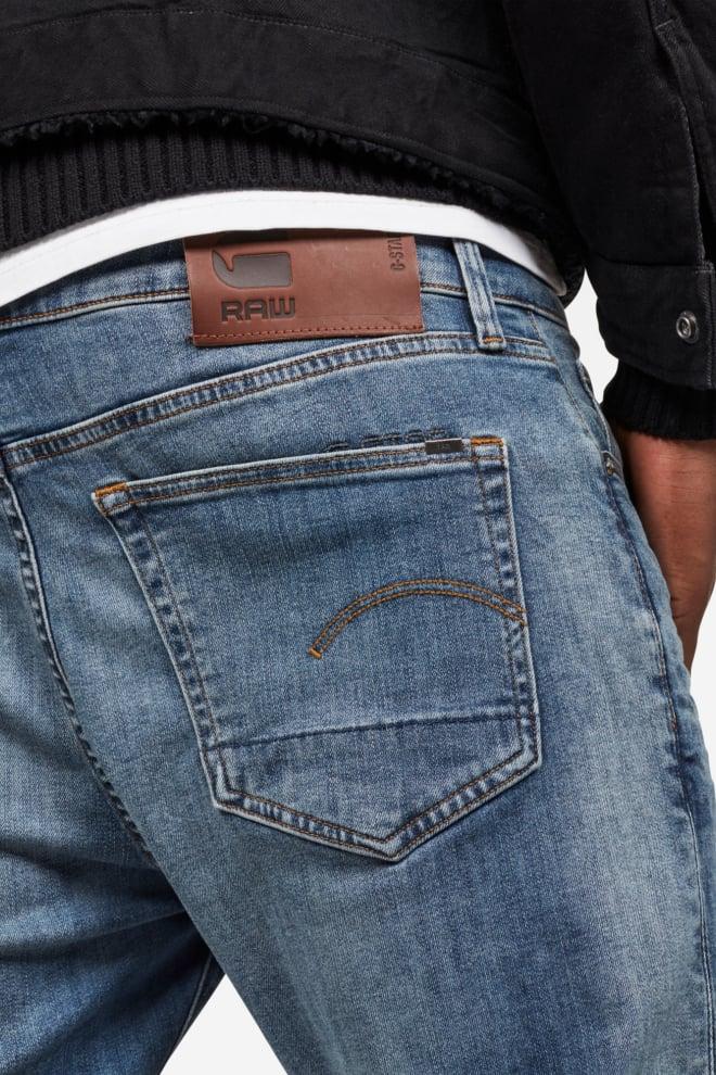 G-star raw slim vintage jeans blauw - G-star Raw