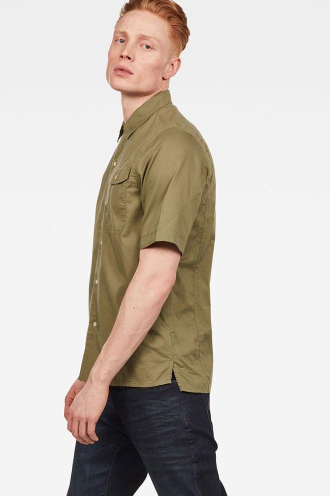 G-star raw xpo service overhemd groen - G-star Raw