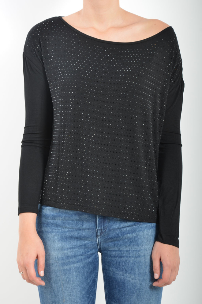 Gaudi long sleeve t-shirt black - Gaudi