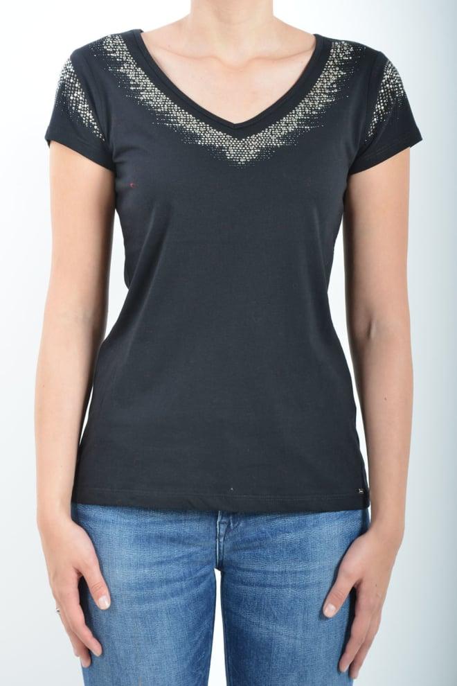 Gaudi short sleeve t-shirt black - Gaudi