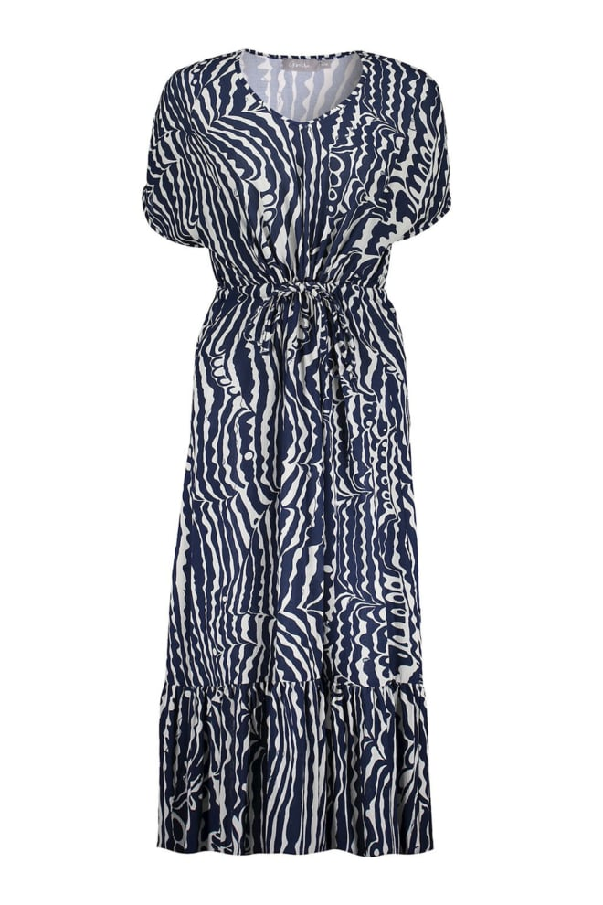 Geisha maxi dress blue - Geisha