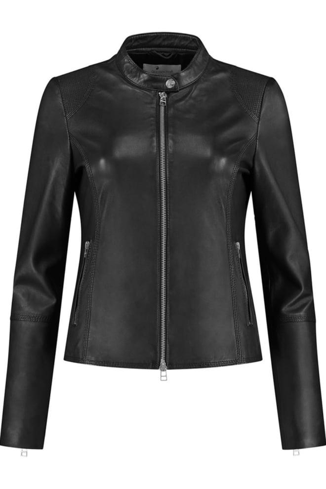 Goosecraft lily biker jas zwart - Goosecraft