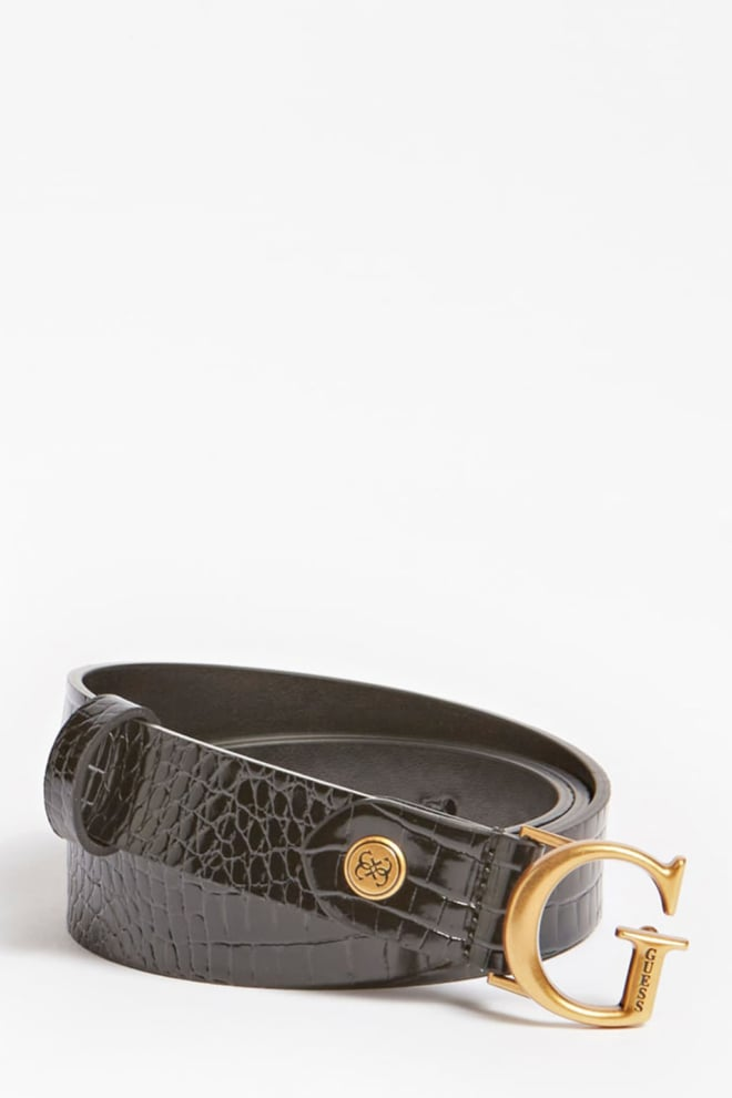 Guess accessoires riem zwart - Guess Accessoires