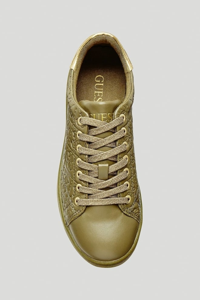 Guess super sneakers green - Guess