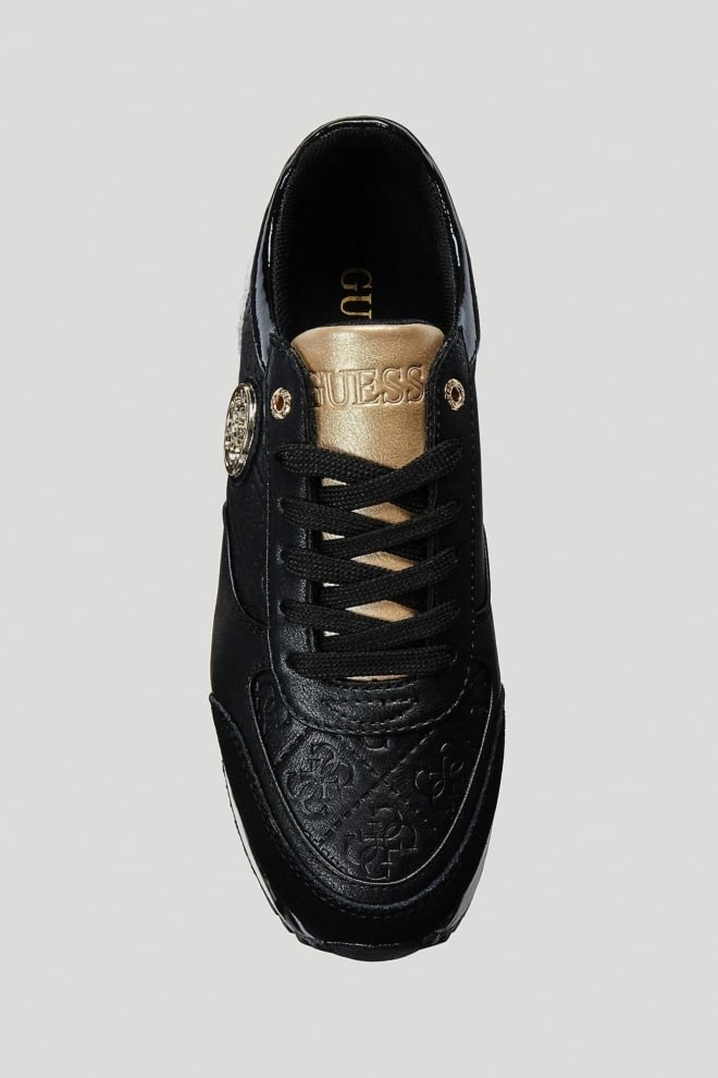 Guess shoes tiffany sneakers black - Guess Shoes