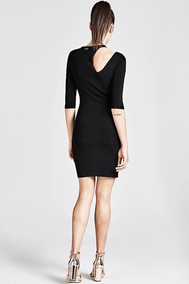 Guess amira jurk zwart - Guess