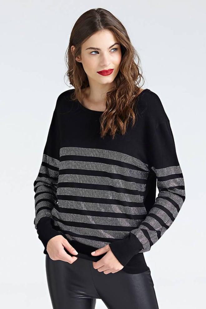 Guess anna trui zwart - Guess