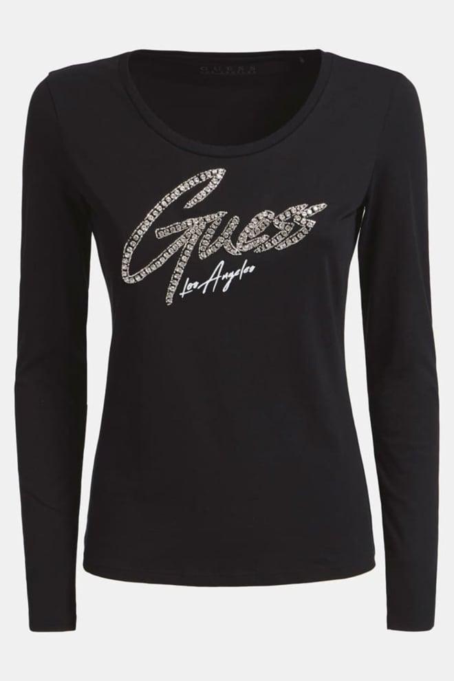 Guess camilla t-shirt zwart - Guess
