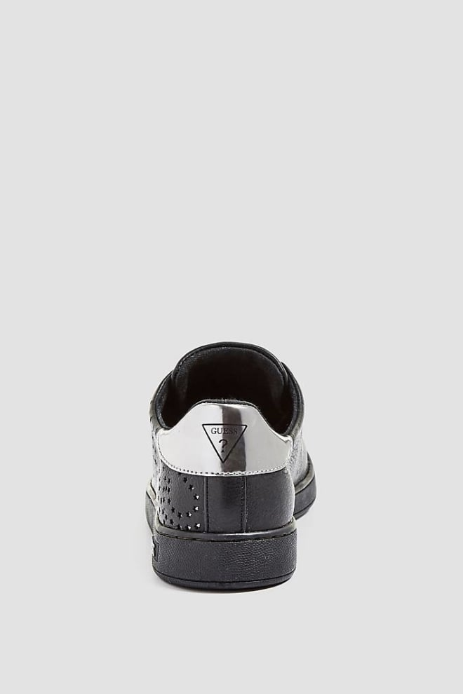 Guess carter sneakers zwart leer - Guess Shoes