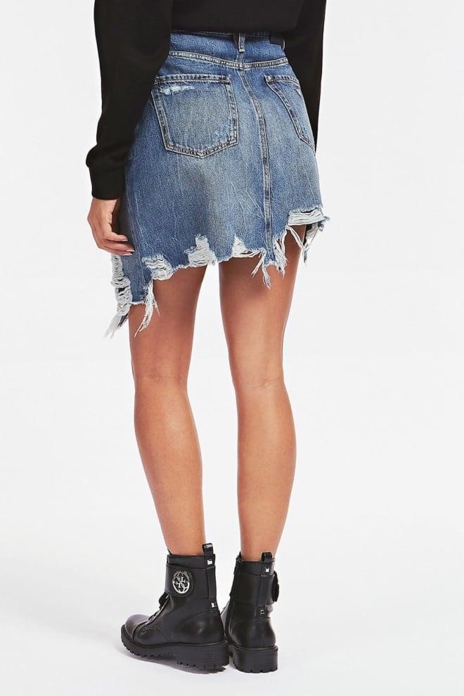 Guess cassy mini spijkerrok - Guess