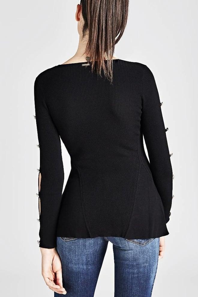 Guess conny trui zwart - Guess