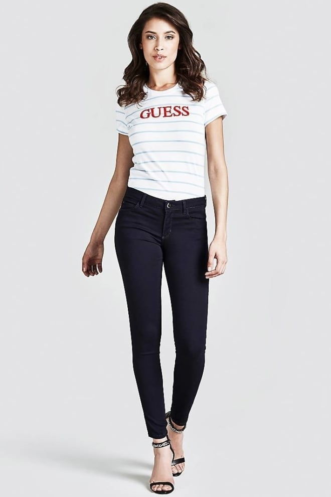 Guess curve x jeans donkerblauw - Guess
