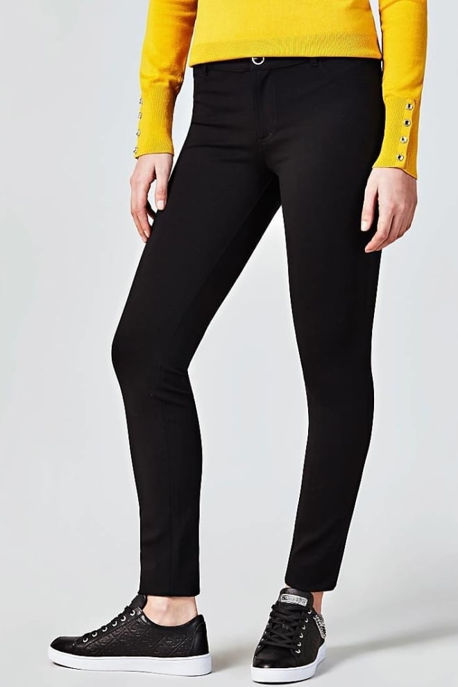 Guess curve skinny jeans zwart - Guess